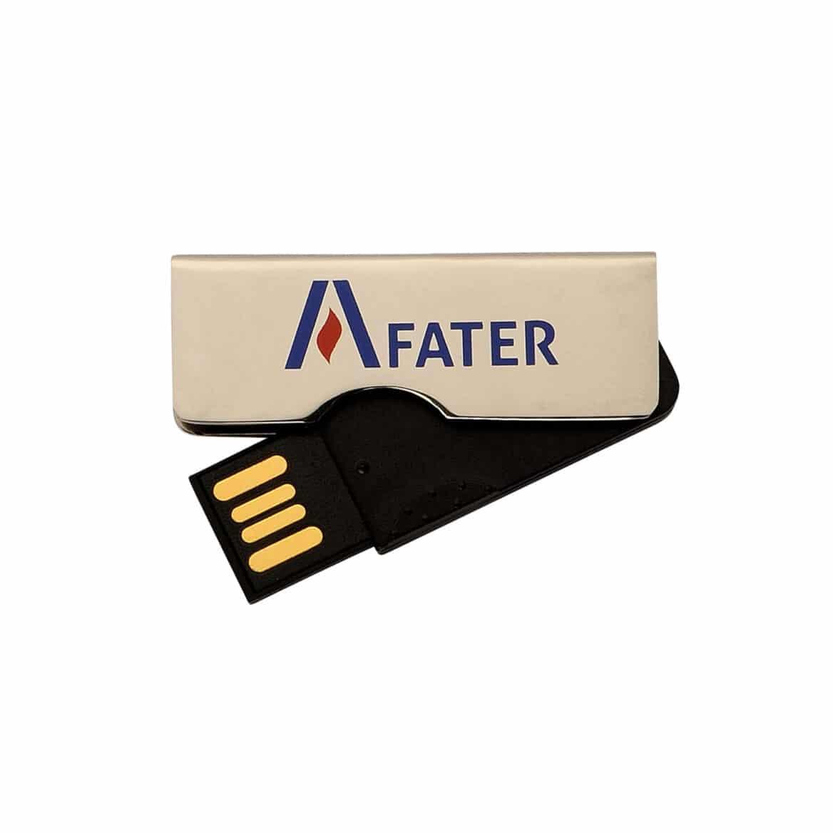 Chiavette usb personalizzate low-cost logo Fater