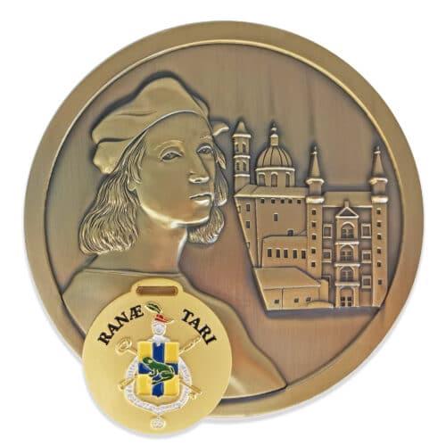 Pieccole e grandi medaglie personalizzate