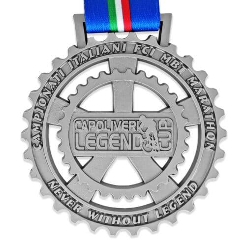 Intaglio su medaglia personalizzata