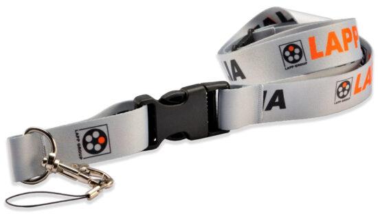 Laccetto porta badge personalizzato in sublimazione