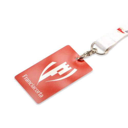 Badge in pvc per lanyard