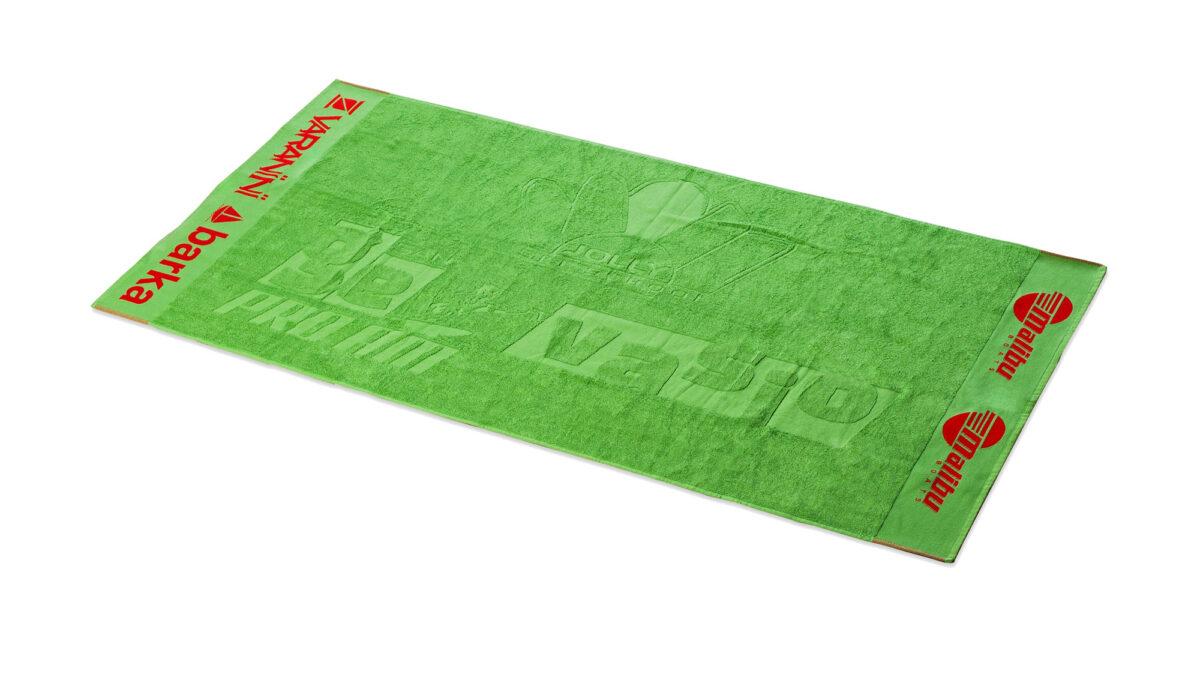 Produzione asciugamano personalizzati con banda strabattuta