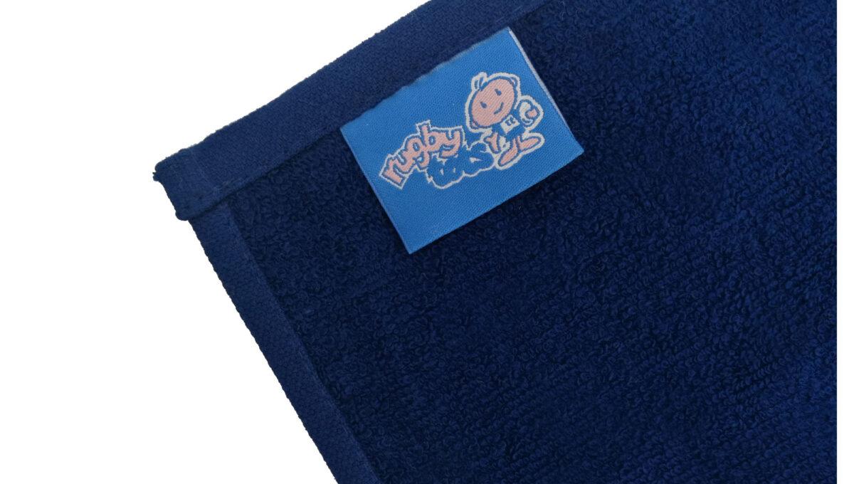 Telo promozionale in cotone con etichetta personalizzata