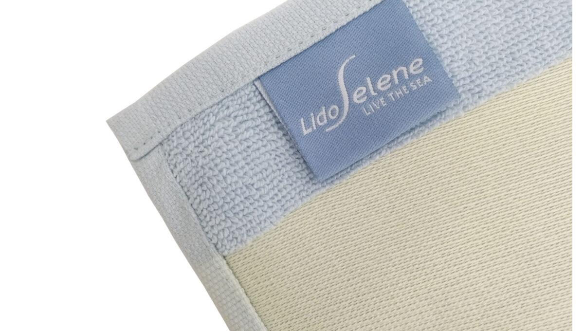Telo lettino custom label